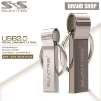 Cool Gadgets Store USB Stick Strong Metal USB Flash Drive (Up to 128GB)
