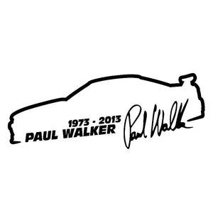 Paul Walker Autoaufkleber - 13cm * 5cm