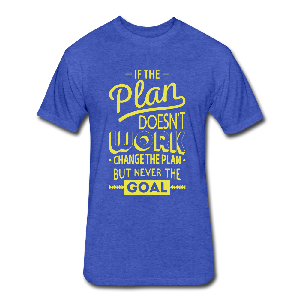 Goalz Tee - heather royal