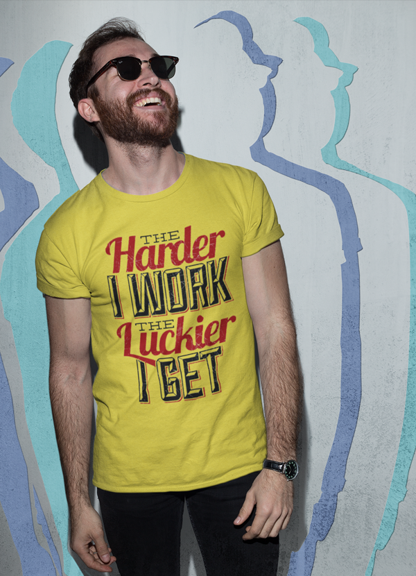 Harder, Luckier Tee