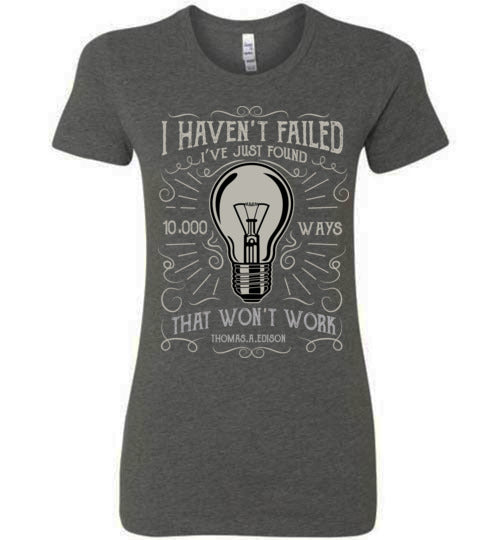 Failure Isn't An Option Ladies Tee