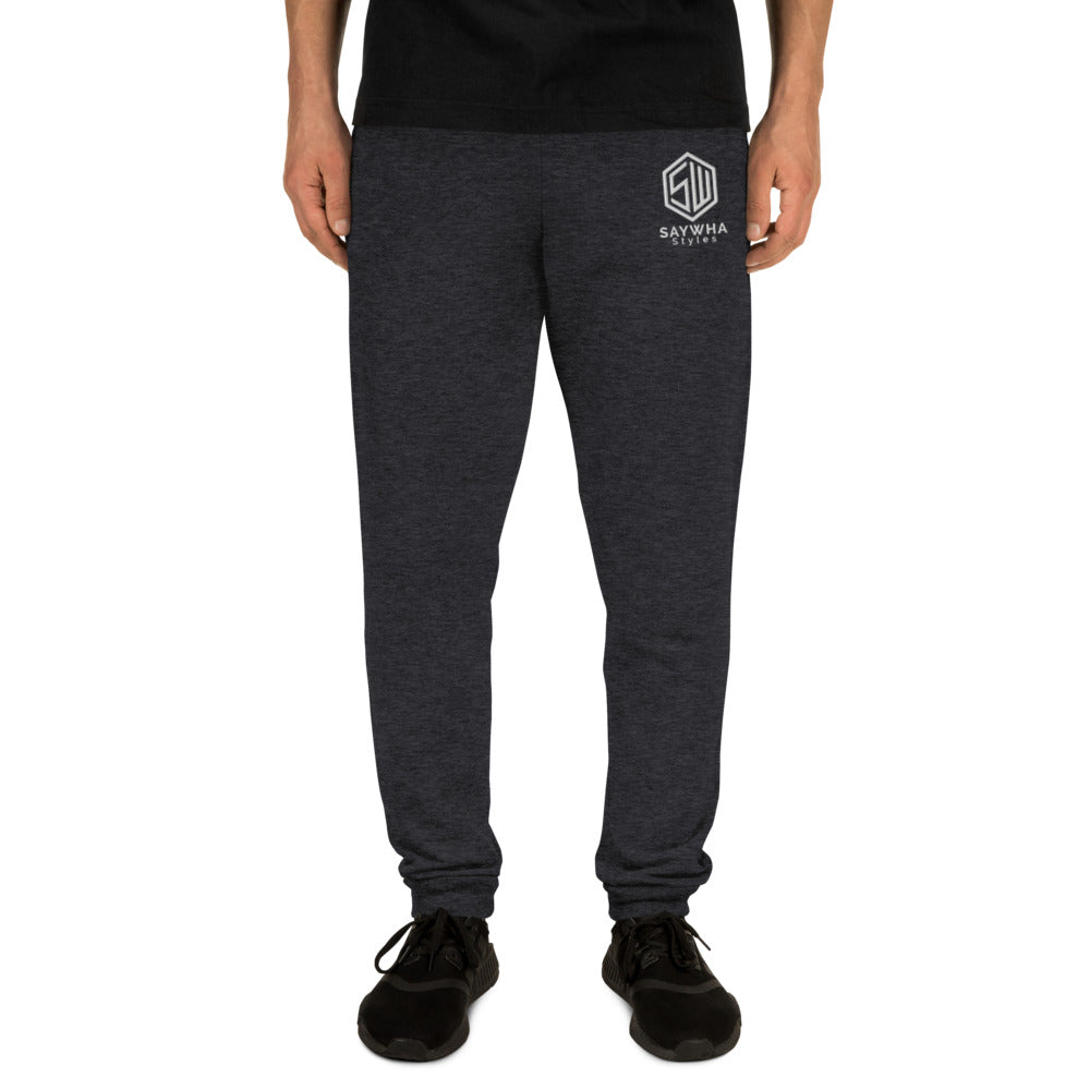 SayWHA Embroidered Joggers