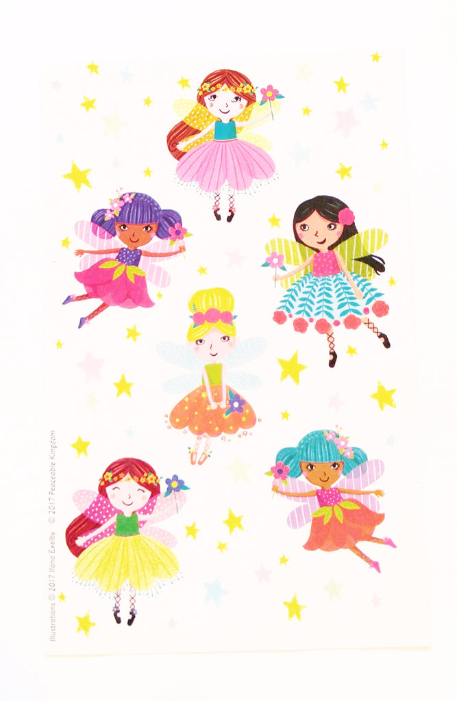 Fairies Scratch and Sniff Stickers (Fruit Punch Scent) *NEW!