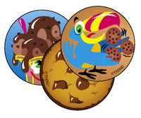 Lots of Chocolate Scratch 'n Sniff Stinky Stickers (Chocolate Scent)