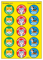 Purr-fect Pets Cats Scratch 'n Sniff Stinky Stickers (Cinnamon Scent) *NEW!