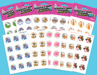 EverythingSmells 80's Scratch & Sniff Stickers Pack of 10