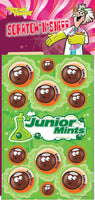 Junior Mints Dr. Stinky Scratch-N-Sniff Stickers (2 sheets) *NEW!