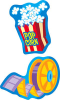 Marvelous Movies Mixed Shape Stinky Stickers (Cola Scent/4 sheets)