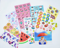 July VACATION THEME Sticker Club Pack *Limited-Edition*