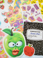 September SCHOOL THEME Sticker Club Pack *Limited-Edition*