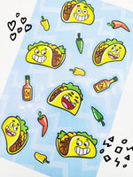 Tacos Scratch & Sniff Stickers