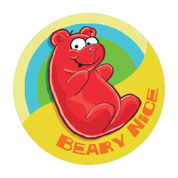 Gummi Bear Dr. Stinky Scratch-N-Sniff Stickers