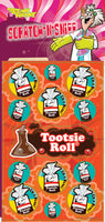 Tootsie Roll Dr. Stinky Scratch-N-Sniff Stickers *NEW!