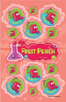 Fruit Punch Dr. Stinky Scratch-N-Sniff Stickers