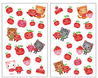 Very Cherry Cats Scratch and Sniff Stickers (38 stickers)