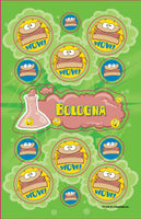 Bologna Dr. Stinky Scratch-N-Sniff Stickers (2 sheets) *NEW!