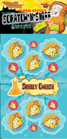 Smelly Cheese Dr. Stinky Scratch -N-Sniff Stickers (2 sheets)