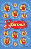 Ketchup Dr. Stinky Scratch -N-Sniff Stickers (2 sheets)
