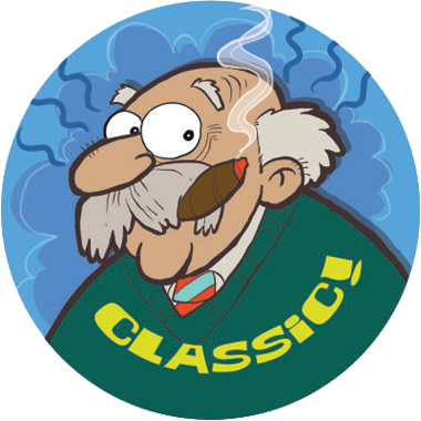Grandpa Dr. Stinky Scratch -N-Sniff Stickers (2 sheets)
