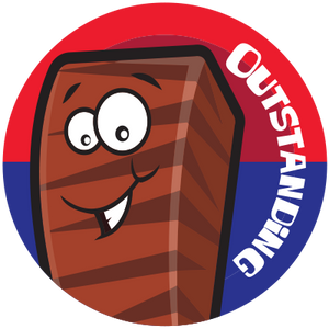 Charleston Chew Dr. Stinky Scratch -N-Sniff Stickers *NEW!