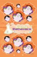 Ghosted Marshmallow Dr. Stinky Scratch-N-Sniff Stickers *NEW!