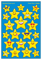 Emoji Stars Caramel Corn Scented Scratch 'n Sniff Mixed Shape Stinky Stickers