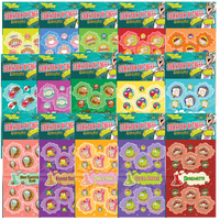 Dr. Stinky Scratch-N-Sniff Stickers Variety Pack Series 4 (15 packs)