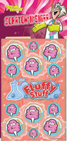 Fluffy Stuff Dr. Stinky Scratch-N-Sniff Stickers *NEW!