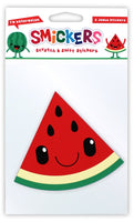 Jumbo Watermelon Scented Smickers Scratch & Sniff Stickers
