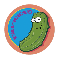 Pickle Dr. Stinky Scratch -N-Sniff Stickers (2 sheets)
