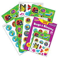 Bugs & Blooms Scratch 'n Sniff Stinky Stickers Variety Pack (288 stickers)