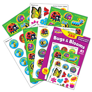 Bugs & Blooms Scratch 'n Sniff Stinky Stickers Variety Pack (288 stickers) *NEW!