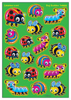 Bug Buddies Licorice Scented Scratch 'n Sniff Mixed Shape Stinky Stickers