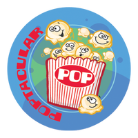 Popcorn Dr. Stinky Scratch -N-Sniff Stickers (2 sheets)