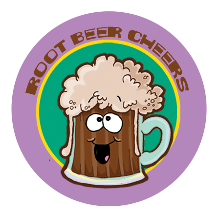 Root Beer Dr. Stinky Scratch -N-Sniff Stickers (2 sheets)
