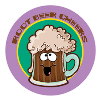 Root Beer Dr. Stinky Scratch-N-Sniff Stickers