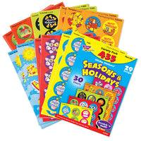 Seasons & Holidays Scratch 'n Sniff Stinky Stickers Variety Pack (435 stickers)