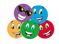 Colorful Smiles Scratch 'n Sniff Stinky Stickers (Tutti-Frutti Scent)