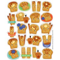 Cinnamon Toast Scented Stickers by Eureka