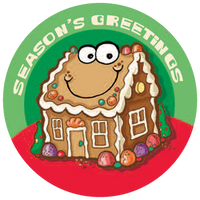 Gingerbread Dr. Stinky Scratch-N-Sniff Stickers