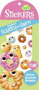 Donut Scratch and Sniff Stickers (34 stickers)