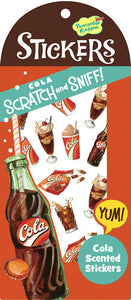 Cola Scratch and Sniff Stickers (30 stickers)