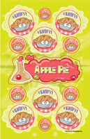 Apple Pie Dr. Stinky Scratch-N-Sniff Stickers (2 sheets)