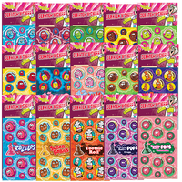 Dr. Stinky Scratch-N-Sniff Stickers Variety Pack Series 5 - CANDY (15 packs)
