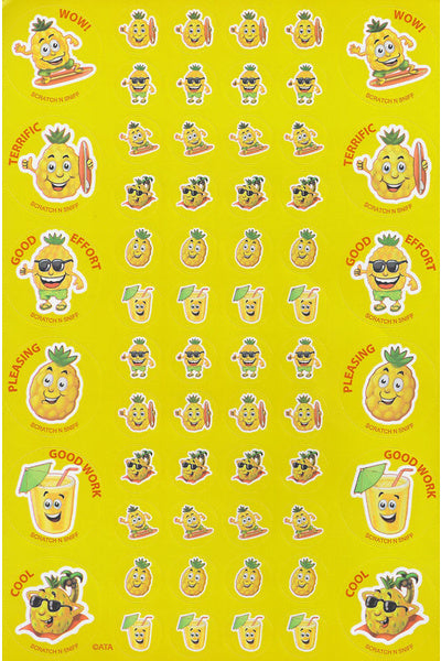 Pineapple ScentSations Scented Stickers *NEW!