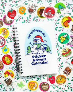 PREORDER EverythingSmells' Sticker Advent Calendar *EXCLUSIVE!*