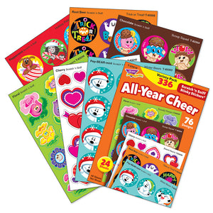 All Year Cheer Scratch 'n Sniff Stinky Stickers Variety Pack (336 stickers)