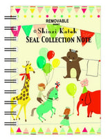 Animal Party Blank Mini Sticker Book