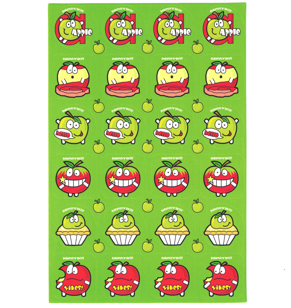 Apple Scratch 'n' Sniff Stickers for EverythingSmells