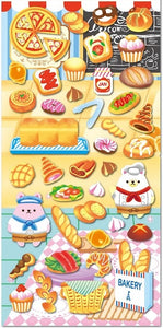 Bakery Bears Puffy Stickers *NEW!